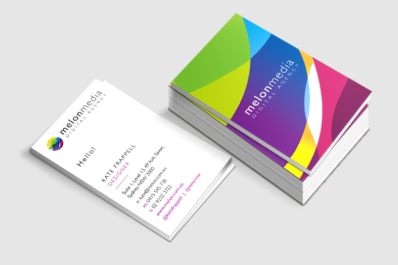 Image of Melon Business Card Design
